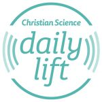 daily lift logo, short inspiring ideas or thought for the day