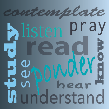 study, contemplate, listen, pray, read, see, ponder, know, hear, understand_these are all things you can do at the Christian Science Reading Room